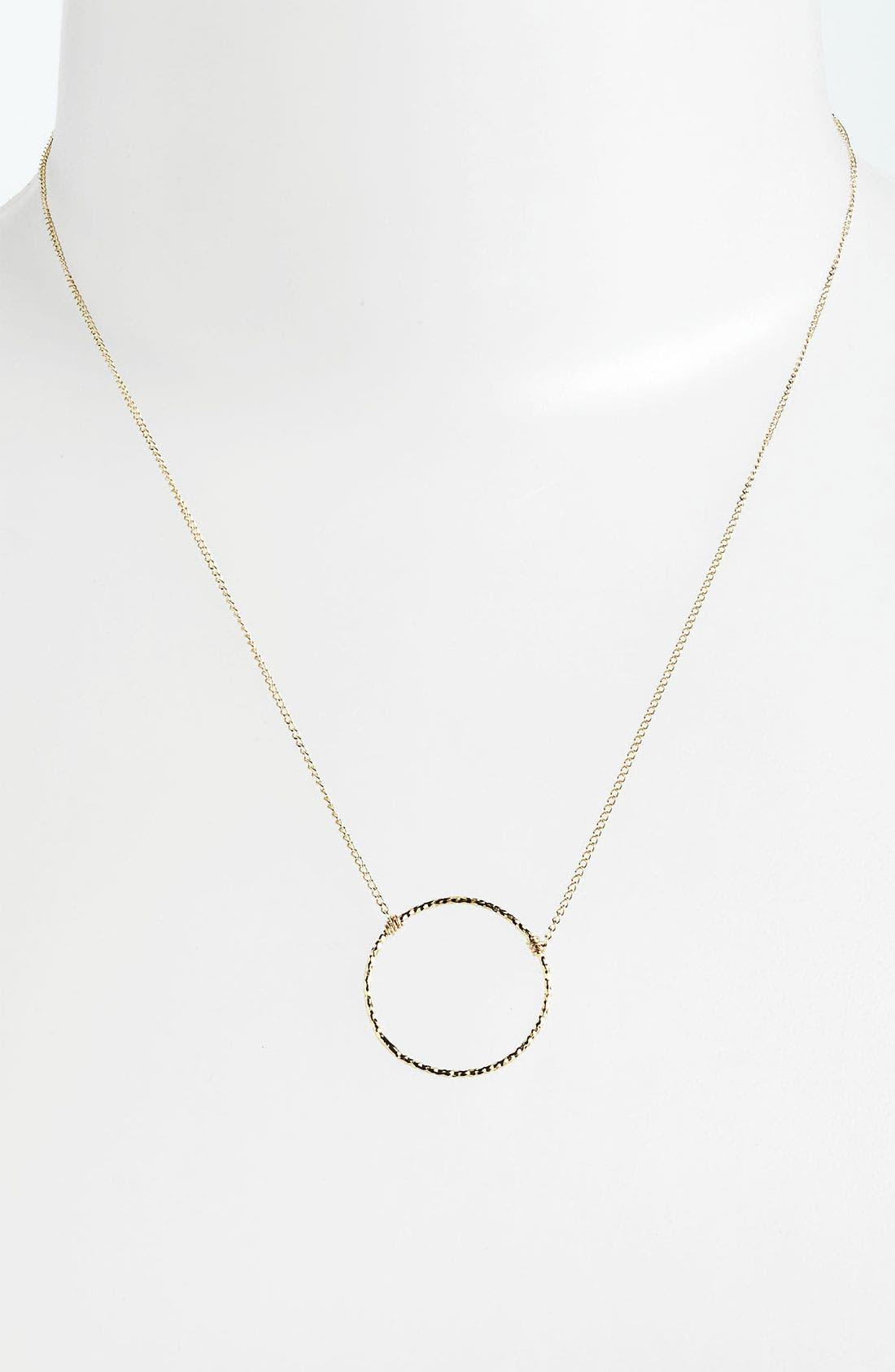 Alternate Image 2  - Dogeared 'Karma Sparkle' Pendant Necklace
