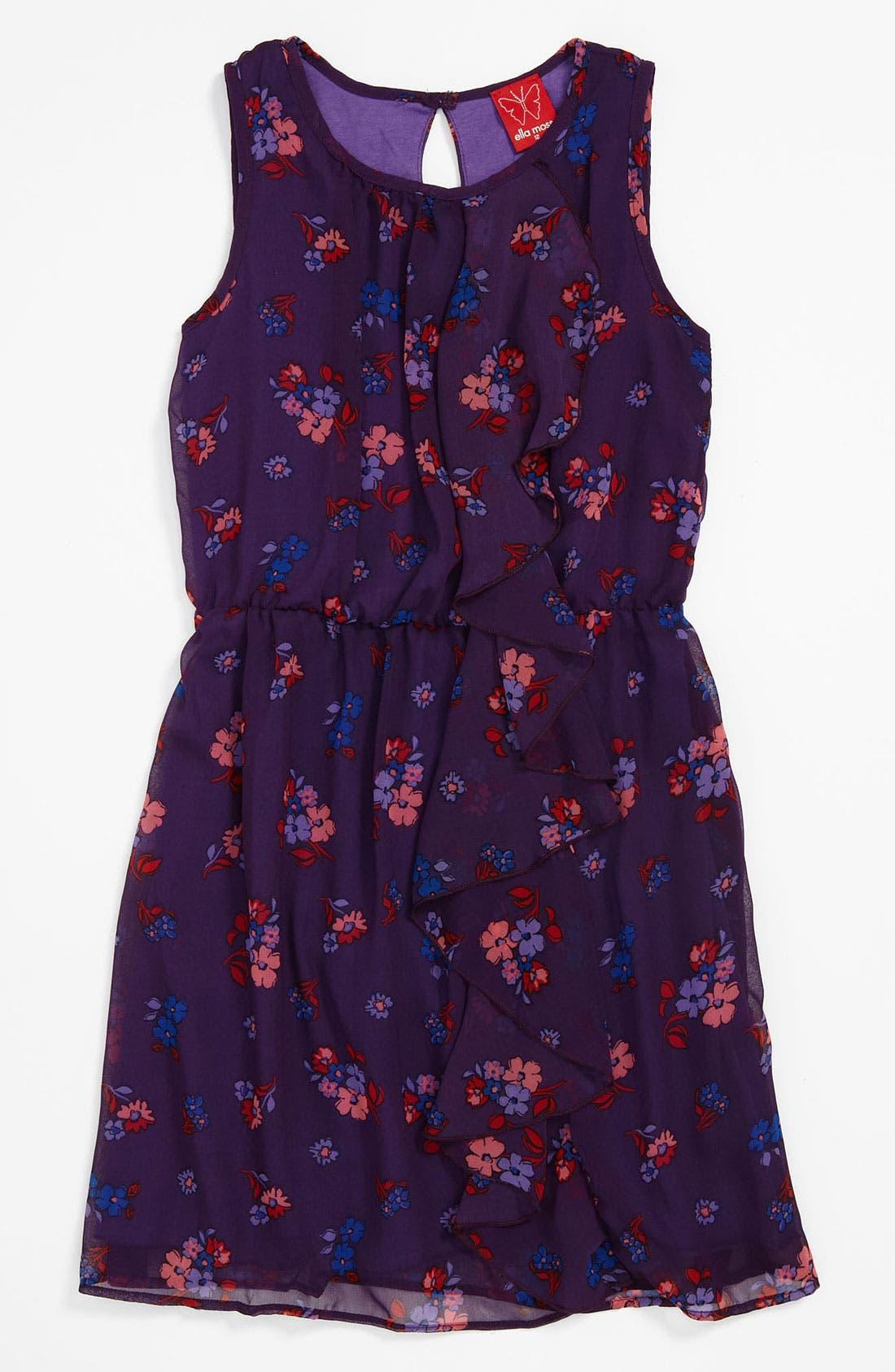 Alternate Image 1 Selected - Ella Moss 'Madeleine' Dress (Big Girls)