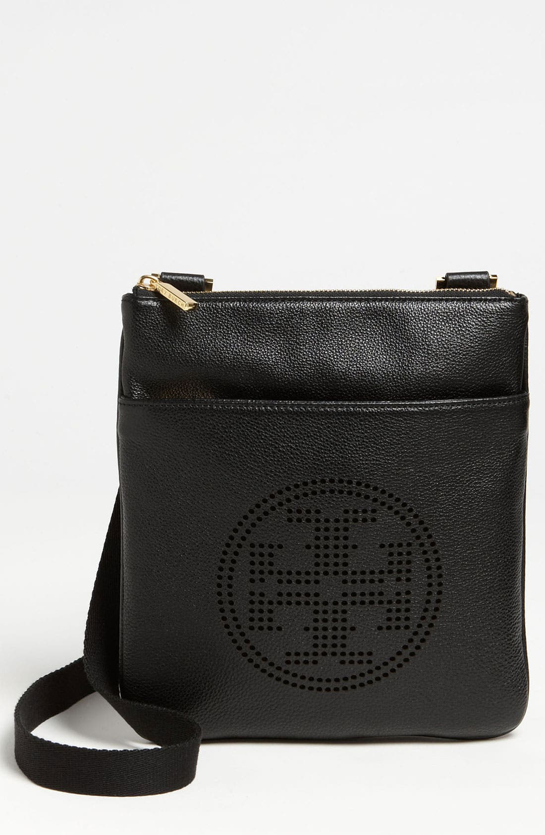 Main Image - Tory Burch Perforated Logo Crossbody Bag