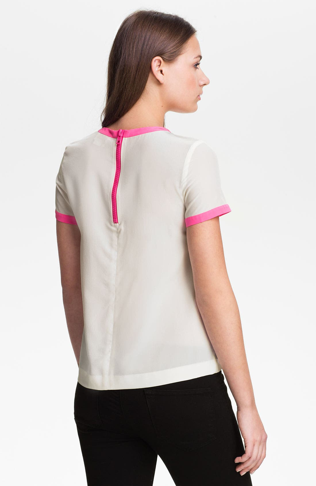 Alternate Image 2  - kate spade new york 'myrna' silk top