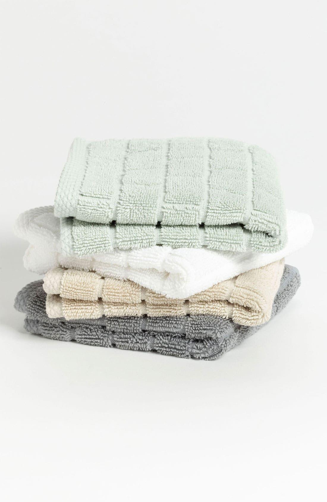 Alternate Image 2  - Waterworks Studio 'Subway' Combed Cotton Washcloth (Online Only)