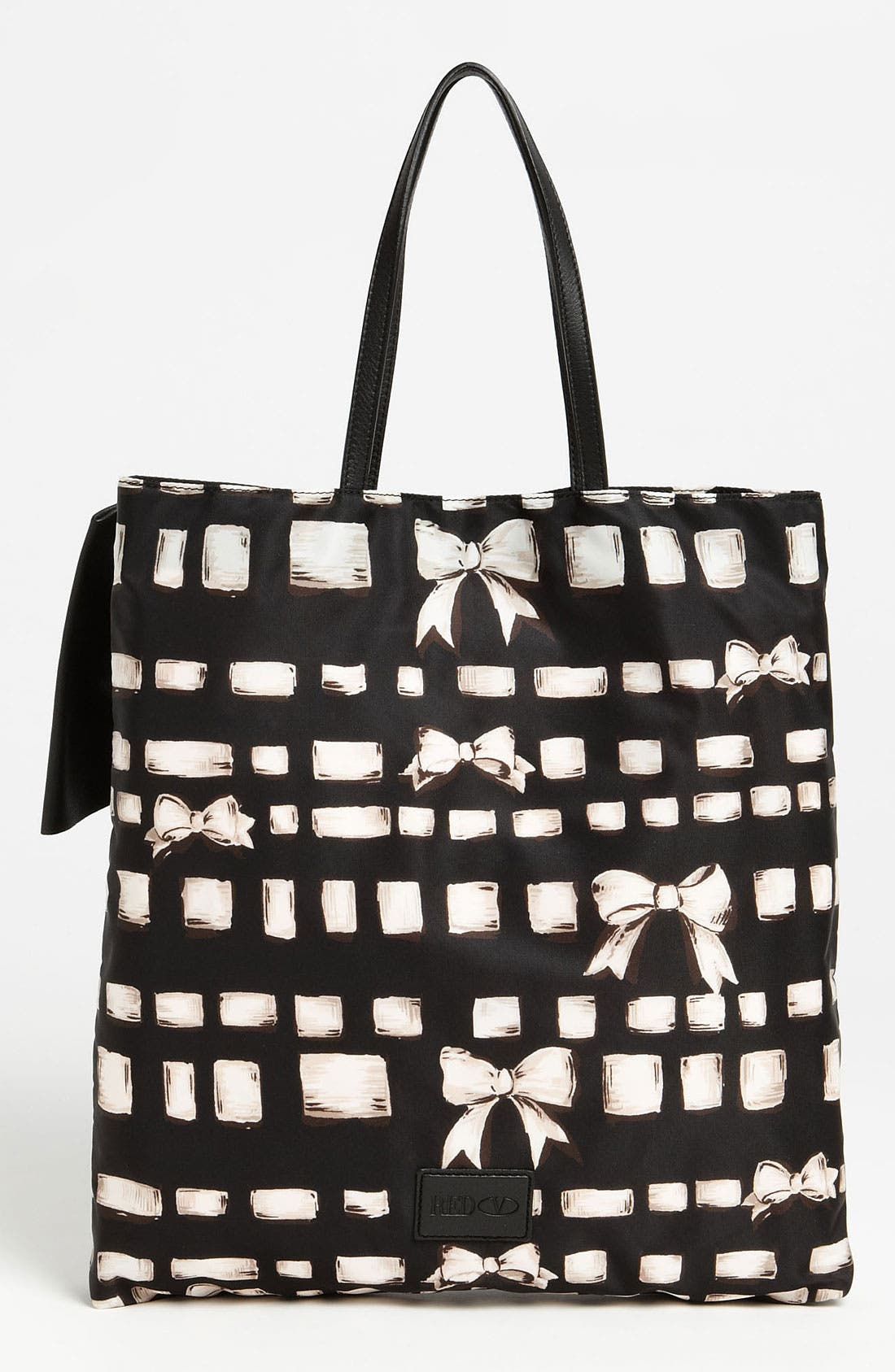 Alternate Image 4  - RED Valentino 'Bow - Ribbon & Bow' Print Tote
