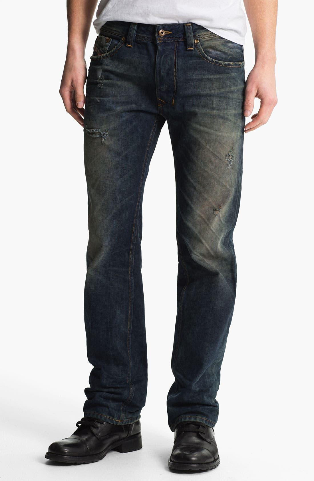 Alternate Image 2  - DIESEL® 'Larkee' Straight Leg Jeans (0075L)