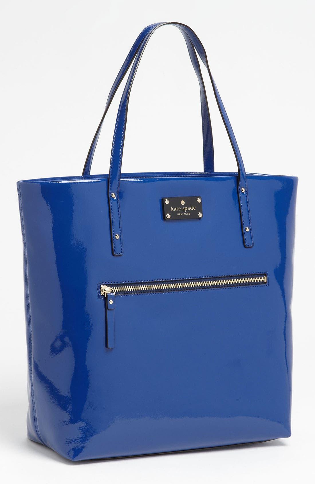 Main Image - kate spade new york patent leather bon shopper