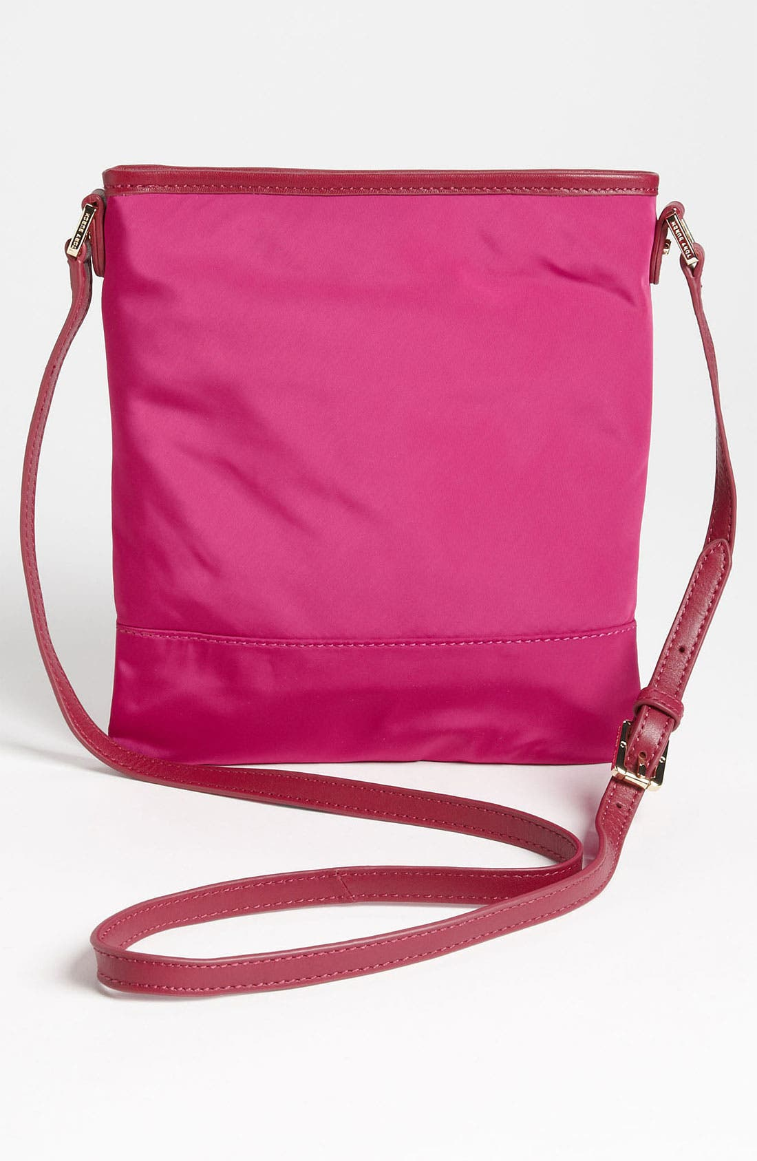 Alternate Image 4  - Tory Burch Stacked Logo Crossbody Bag