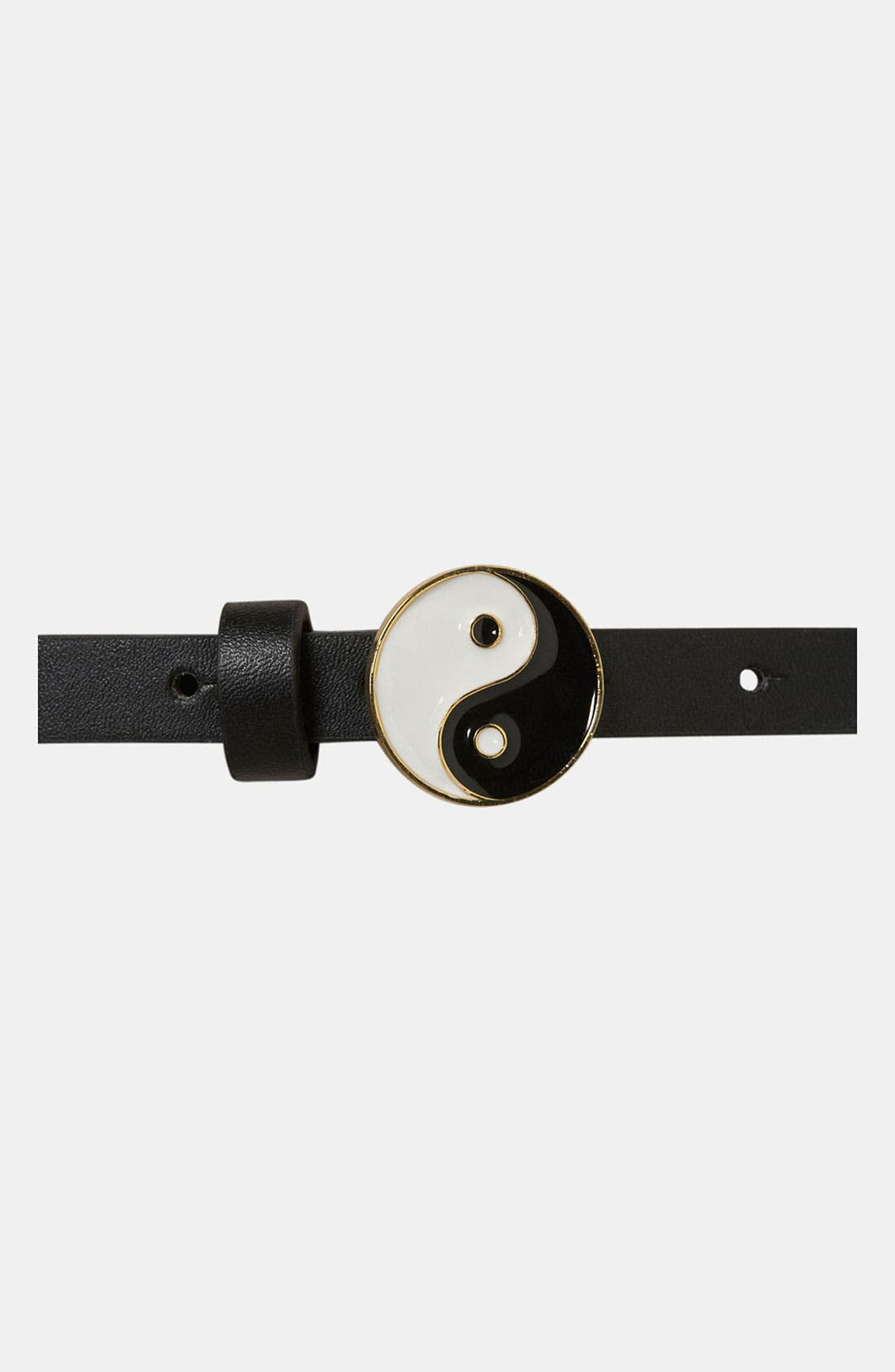 Alternate Image 3  - Topshop 'Yin Yang' Skinny Belt