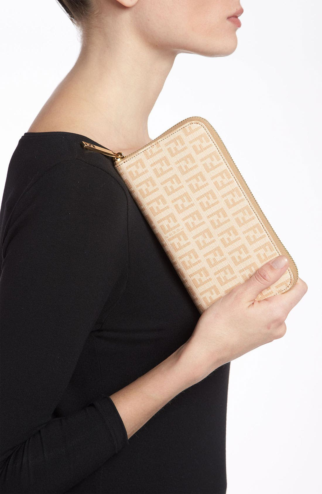 Alternate Image 2  - Fendi 'Forever' Zip Around Wallet