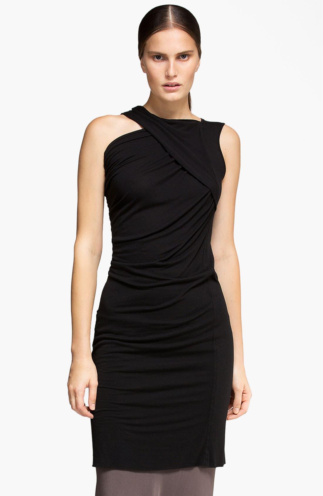 Alternate Image 1 Selected - Rick Owens Draped Jersey Tunic Dress