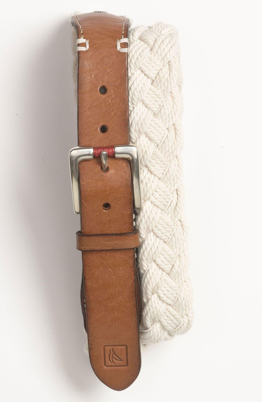 Alternate Image 1 Selected - Sperry Top-Sider® 'Nantucket' Braided Belt