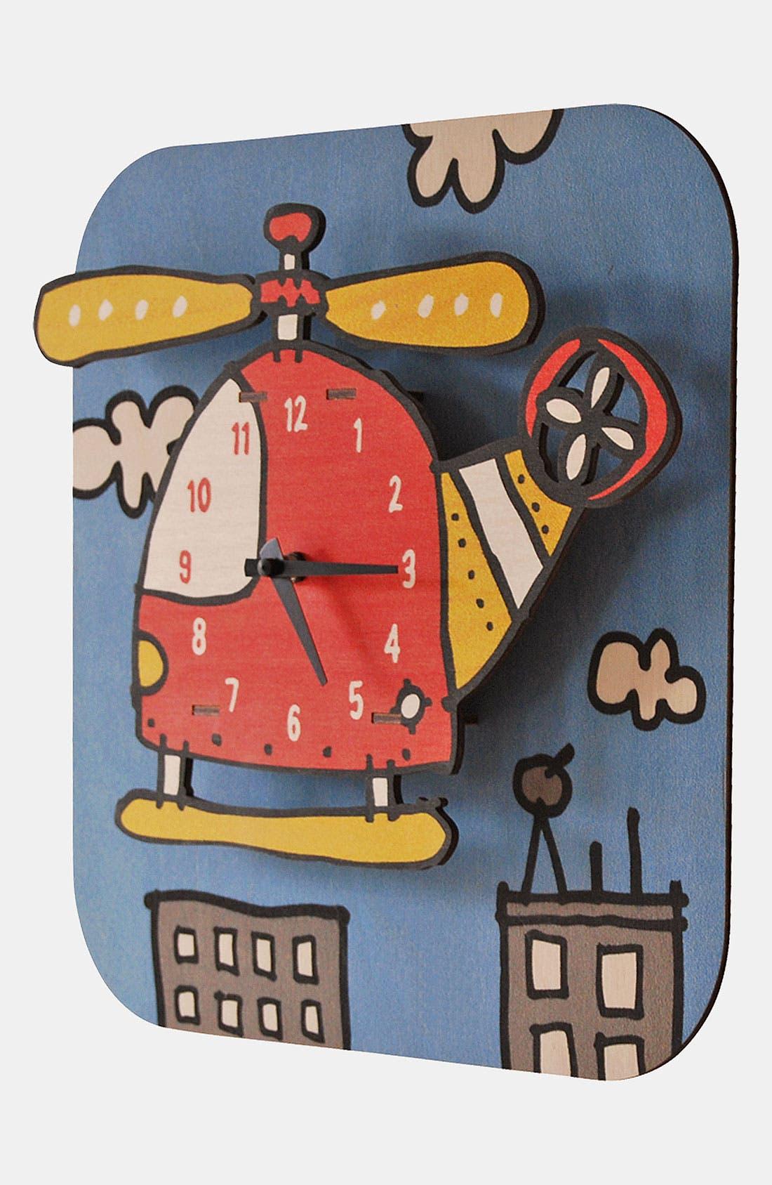 Alternate Image 2  - Modern Moose 'Copter' Clock