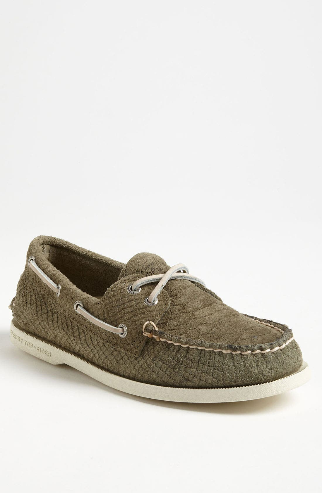 Main Image - Sperry Top-Sider® 'Authentic Original' Snake Embossed Boat Shoe (Men) (Online Only)