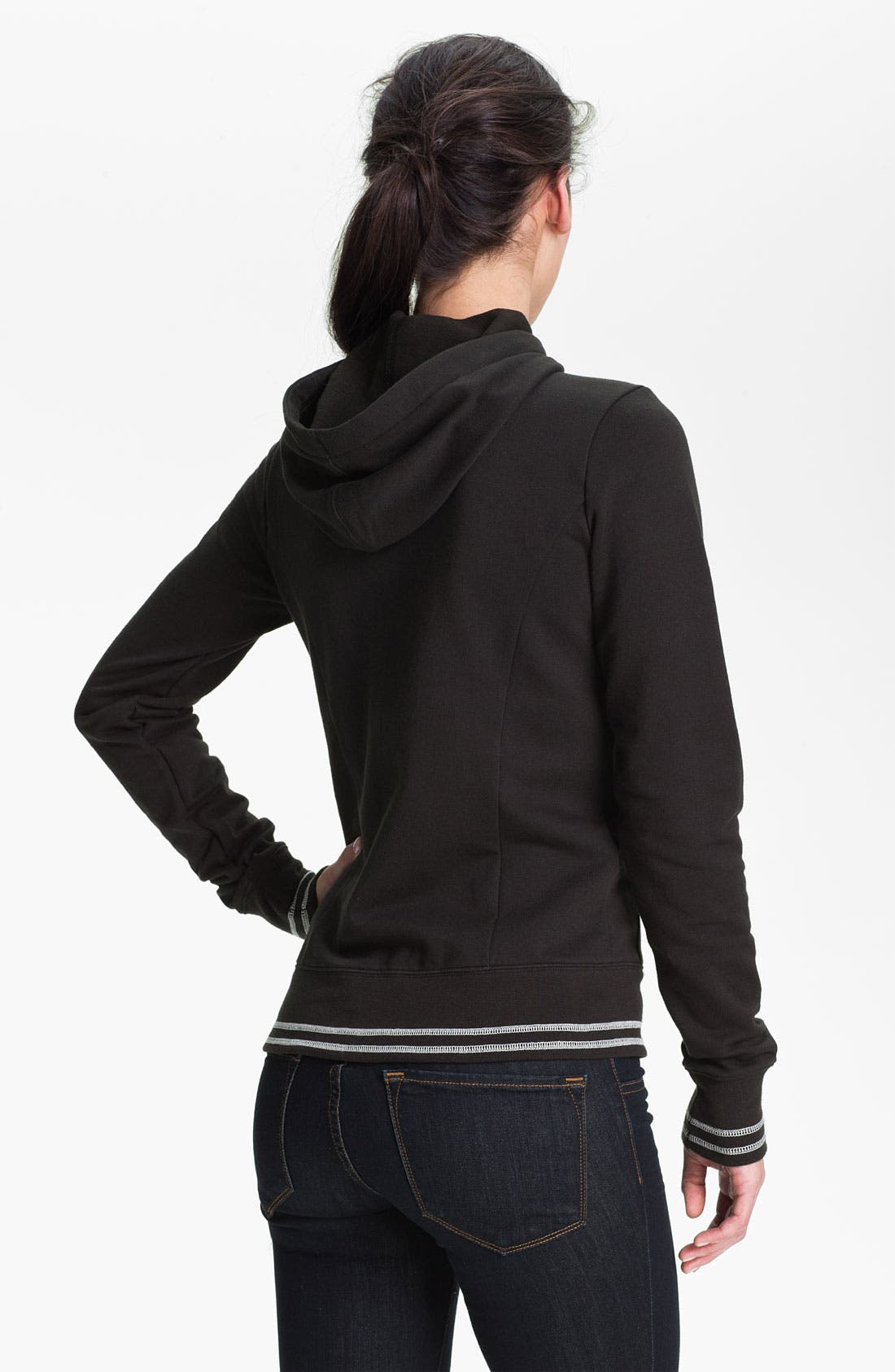 Alternate Image 2  - The North Face Full Zip Logo Hoodie