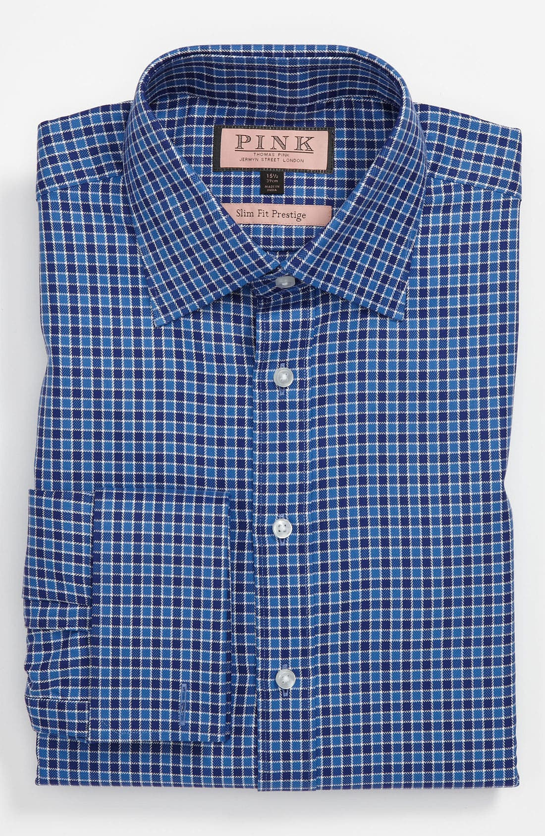Main Image - Thomas Pink Slim Fit Prestige Dress Shirt