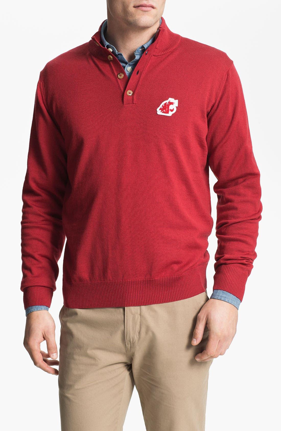Alternate Image 1 Selected - Thomas Dean 'Washington State University' Wool Sweater