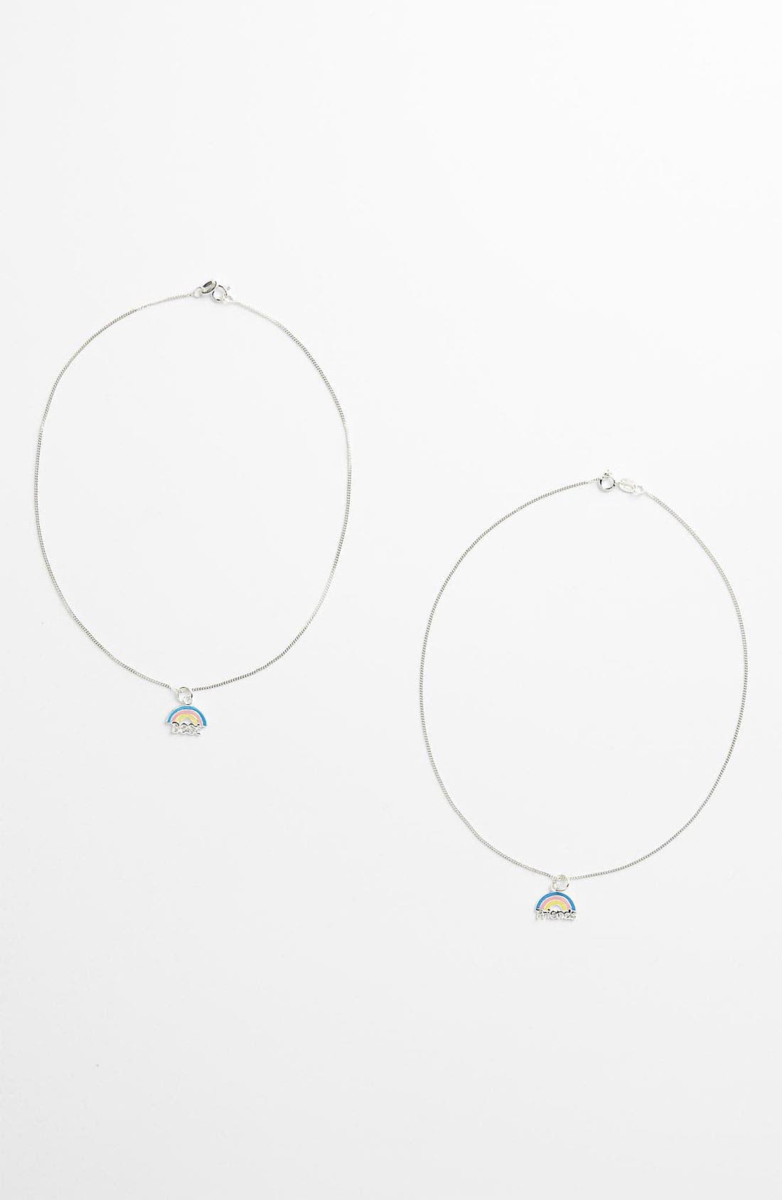 Alternate Image 1 Selected - Tomas 'Rainbow' Necklace (Girls)