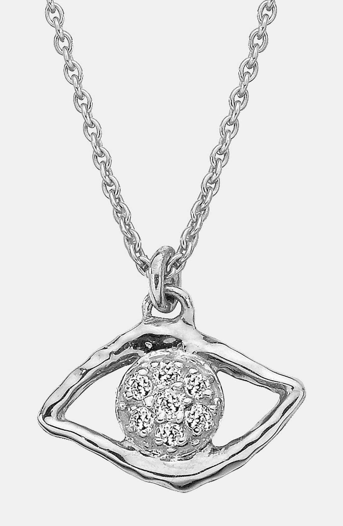 Main Image - Whitney Stern Evil Eye Pendant Necklace