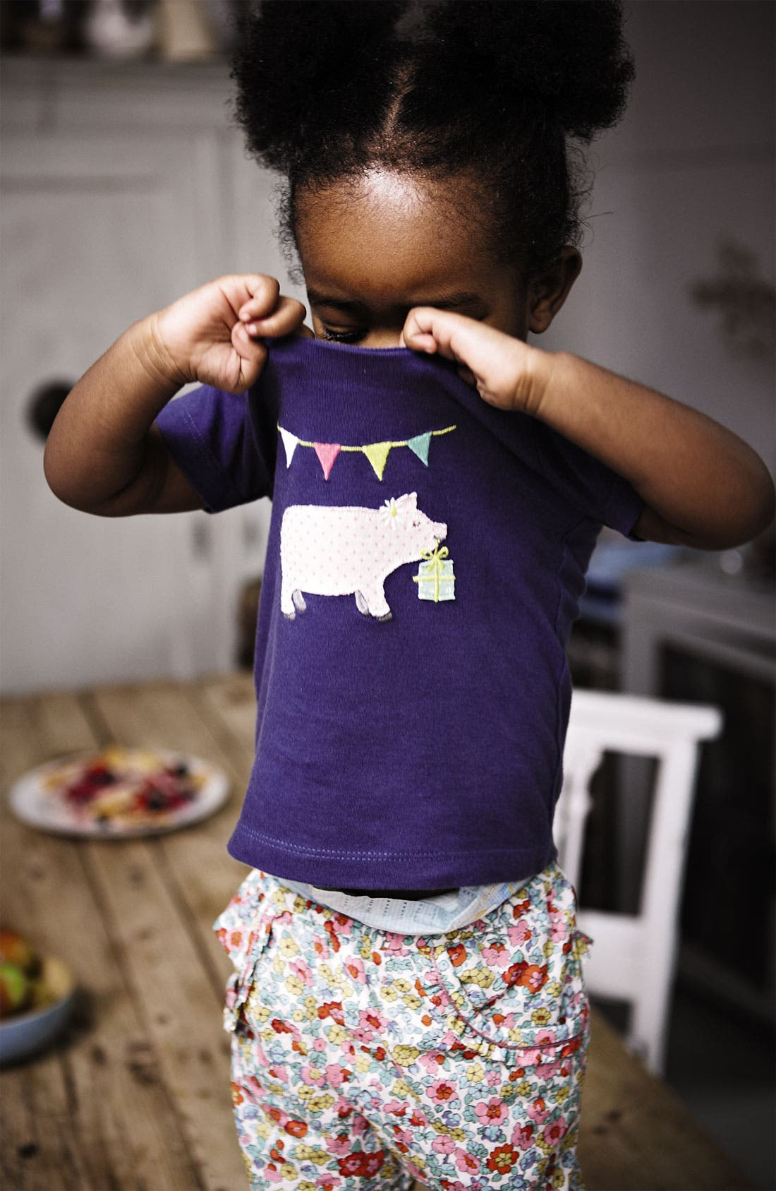 Alternate Image 2  - Mini Boden 'Party Animals' Tee (Baby)