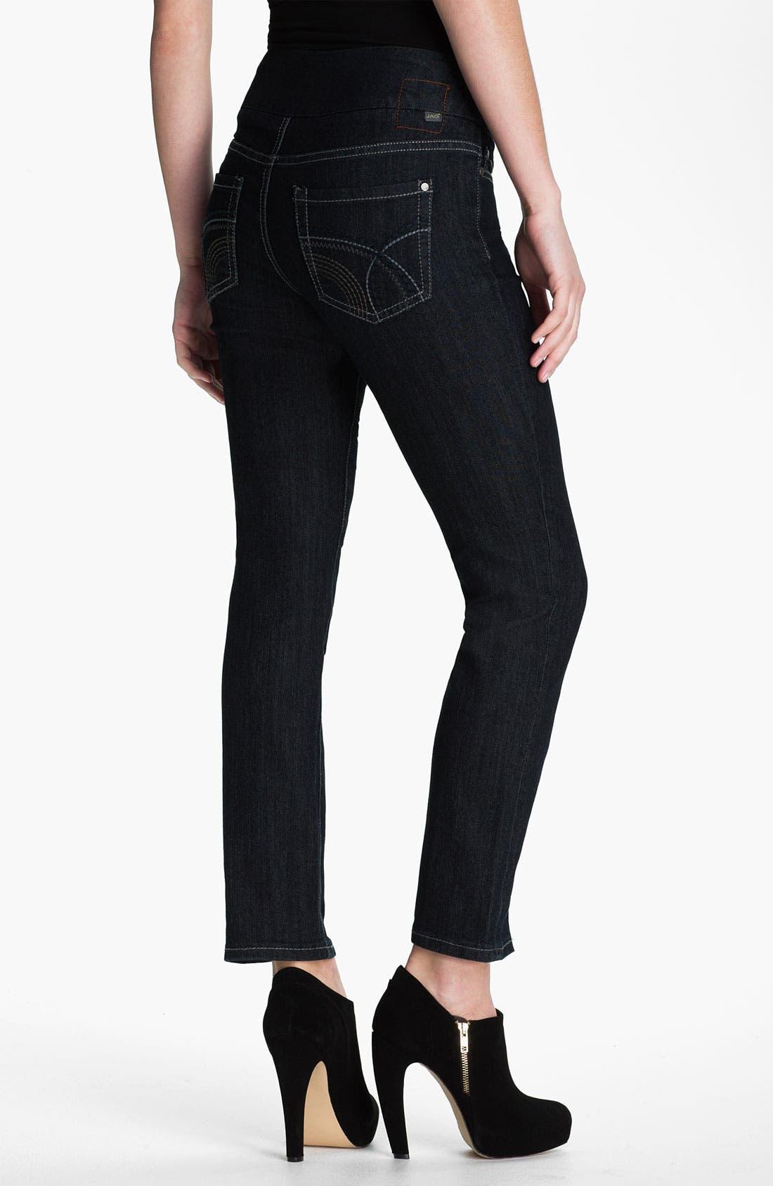 Alternate Image 5  - Jag Jeans 'Holland' Straight Leg Pull-On Jeans (Petite)