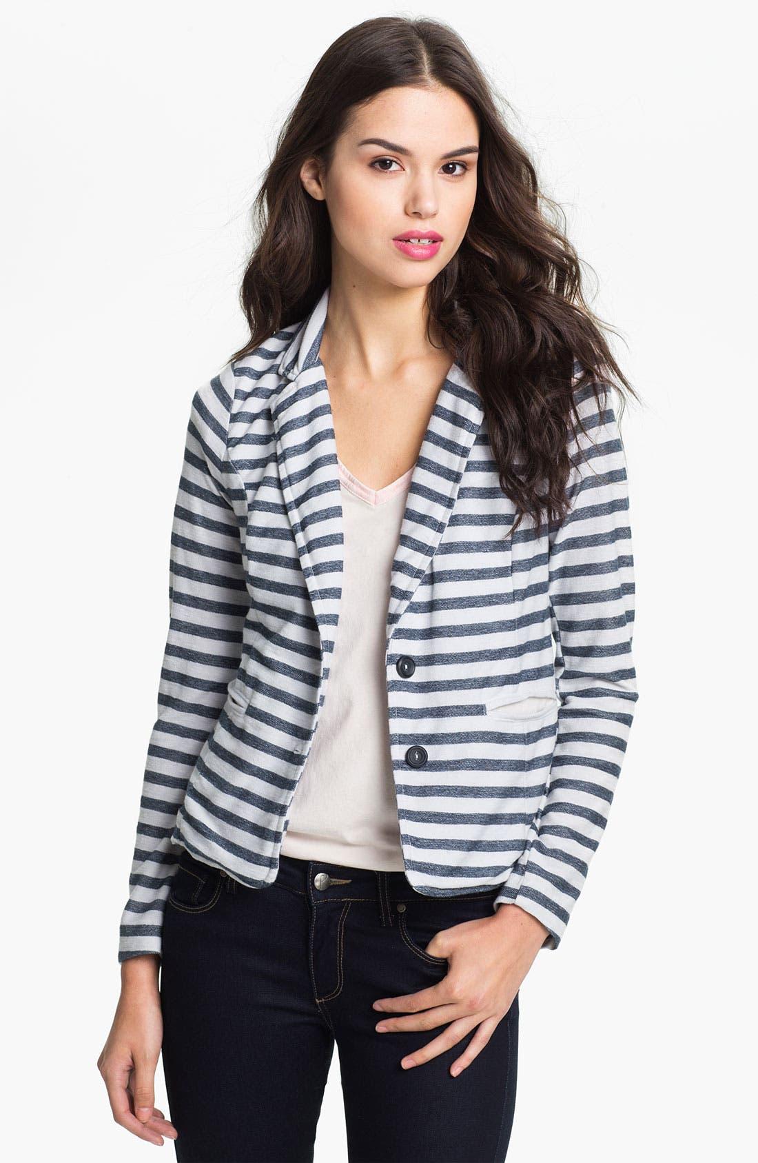Alternate Image 1 Selected - Splendid 'Nantucket' Stripe Blazer