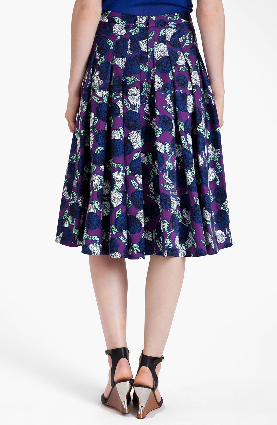 Alternate Image 2  - Marni Mum Print Gabardine Skirt