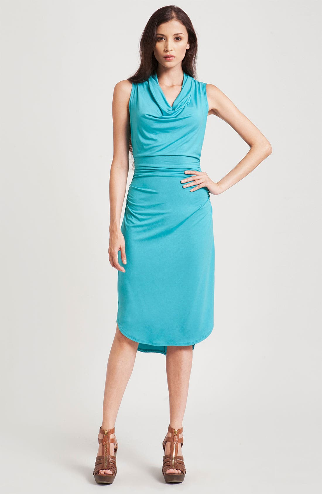 Alternate Image 1 Selected - Three Dots Cowl Neck Sheath Dress