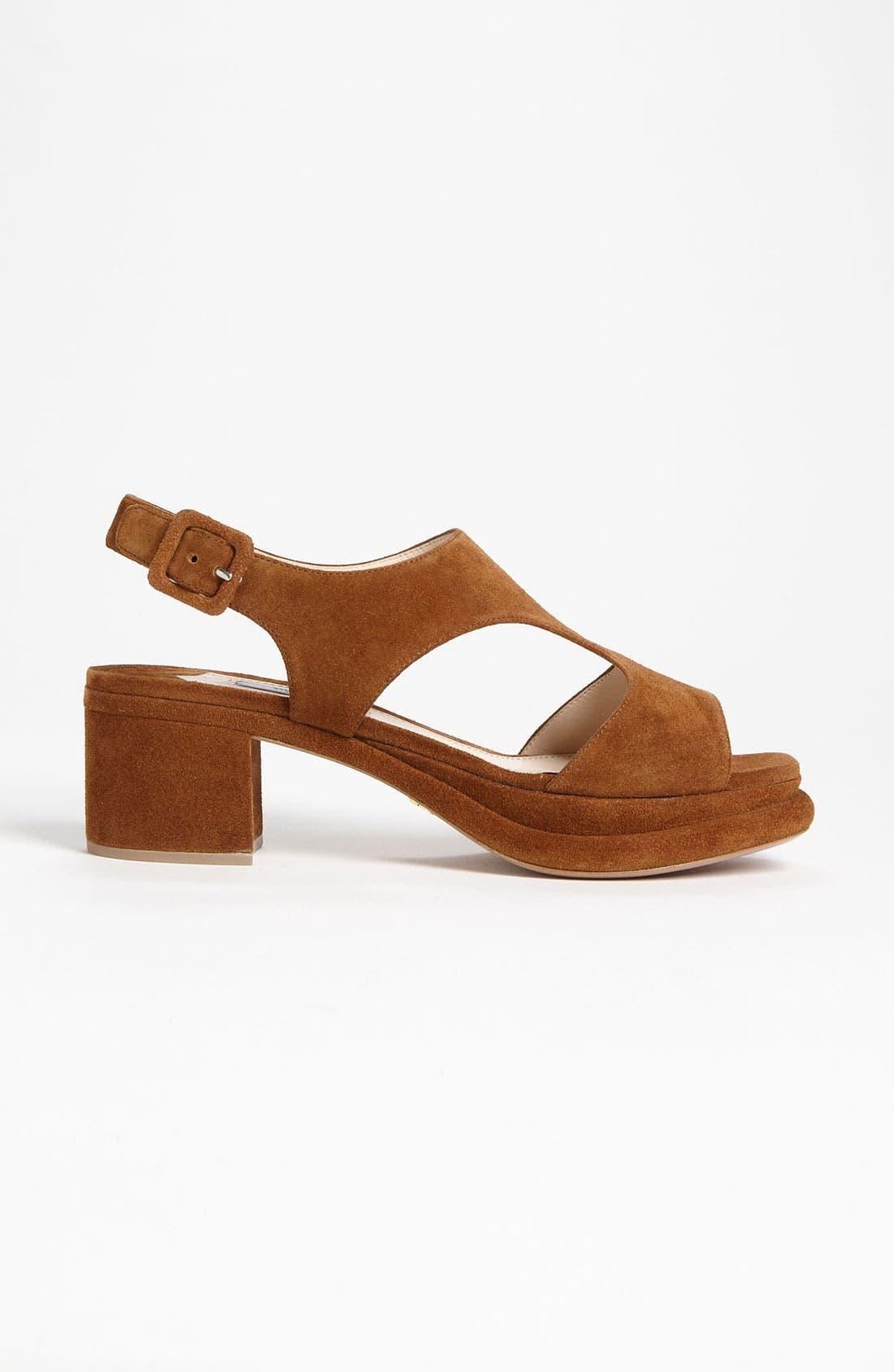 Alternate Image 3  - Prada Platform Block Heel Sandal
