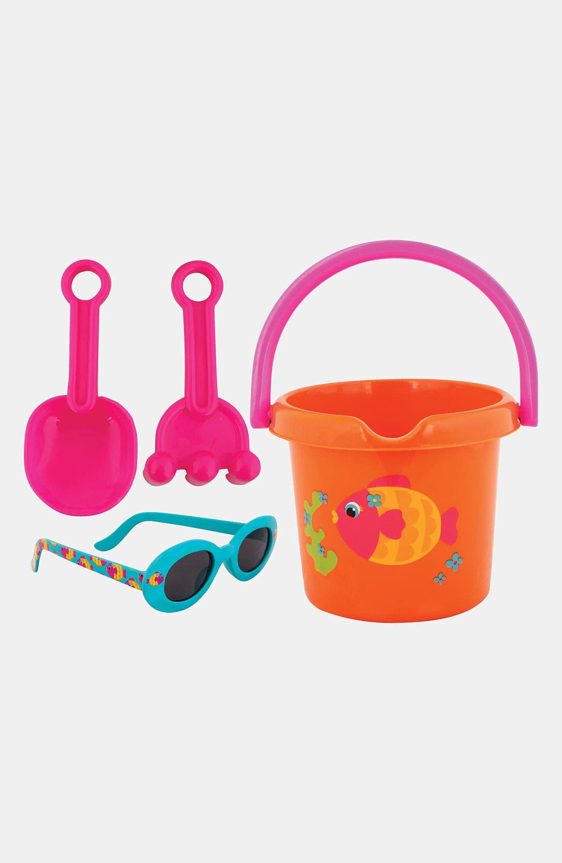 Alternate Image 1 Selected - Stephen Joseph Sand Bucket & Toys