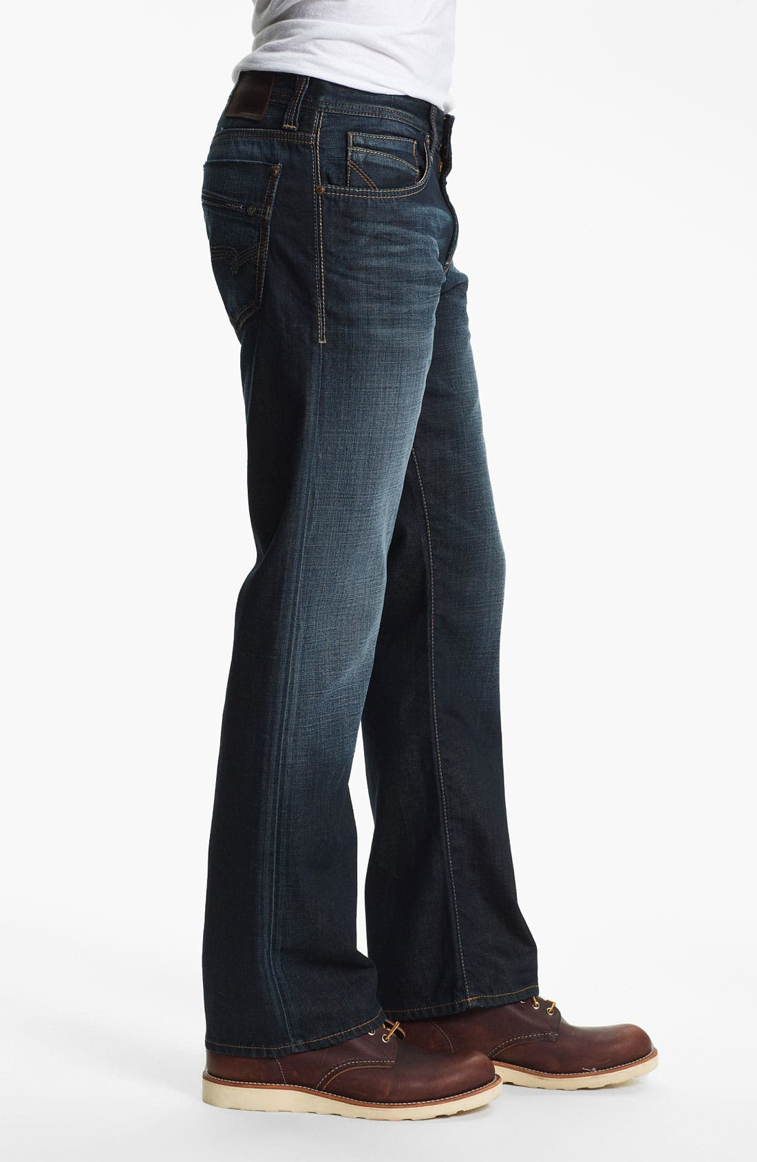Alternate Image 3  - Mavi Jeans 'Josh' Bootcut Jeans (Deep American Vintage)