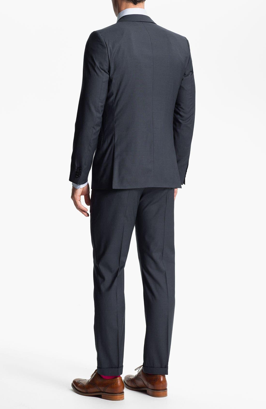 Alternate Image 3  - HUGO 'Amaro/Heise' Trim Fit Suit