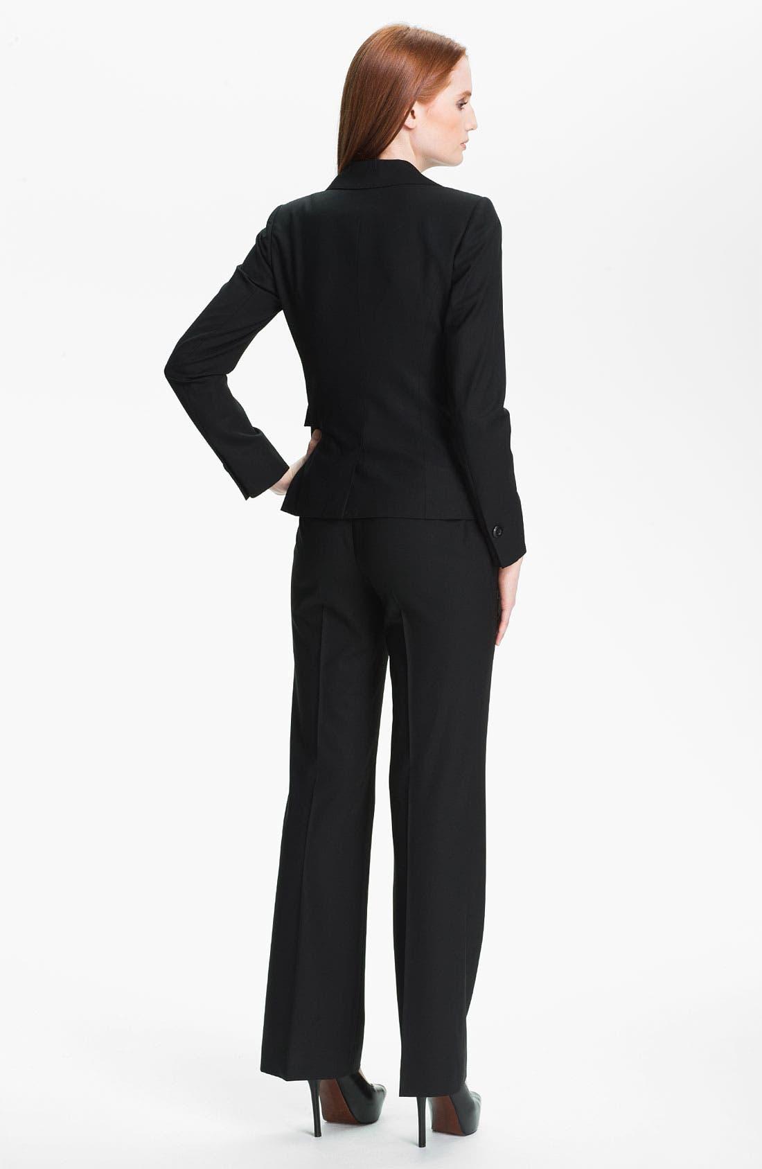 Alternate Image 5  - Classiques Entier Stretch Wool Pants