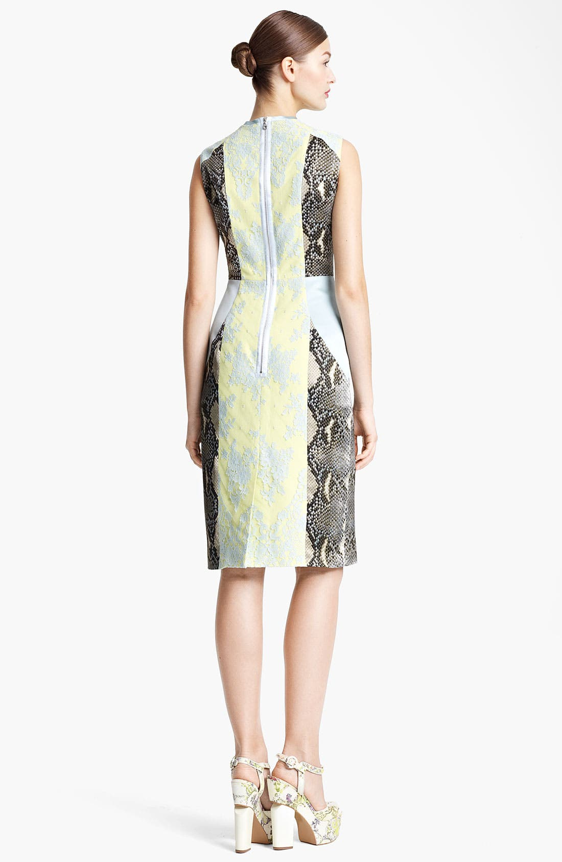 Alternate Image 2  - Erdem 'Brynn' Panelled Dress