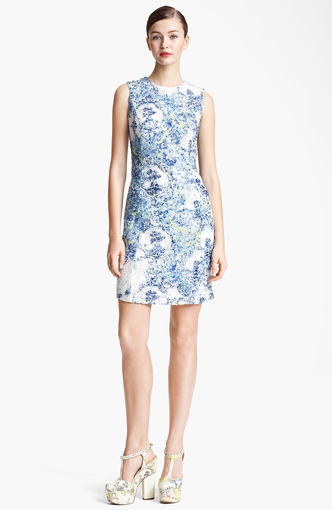 Alternate Image 1 Selected - Erdem Sequin Lace Sheath Dress