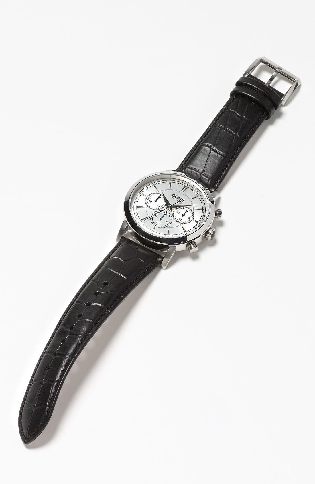 Alternate Image 5  - BOSS HUGO BOSS 'Classic' Round Chronograph Watch, 40mm
