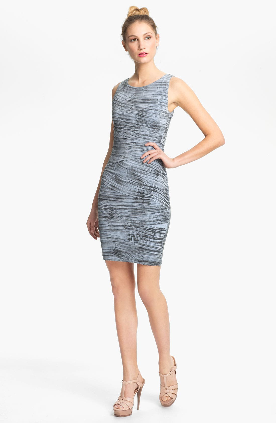 Alternate Image 1 Selected - B44 Dressed by Bailey 44 'Rosetta Stone' Contour Print Dress