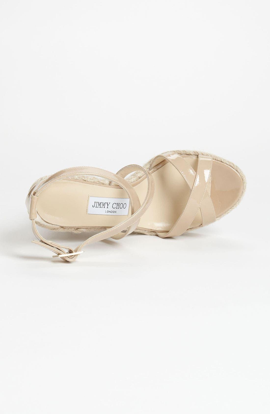 Alternate Image 3  - Jimmy Choo 'Porto' Wedge Sandal