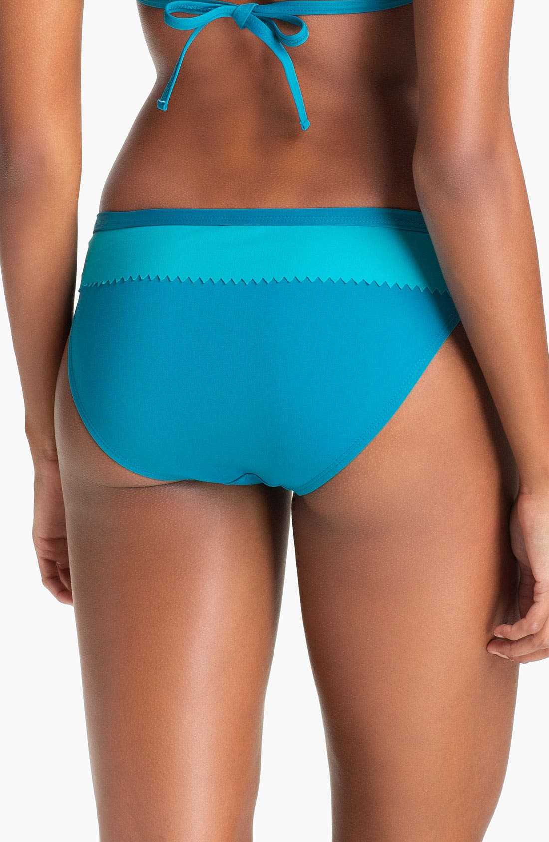 Alternate Image 2  - Eco Swim Banded Hipster Bikini Bottom