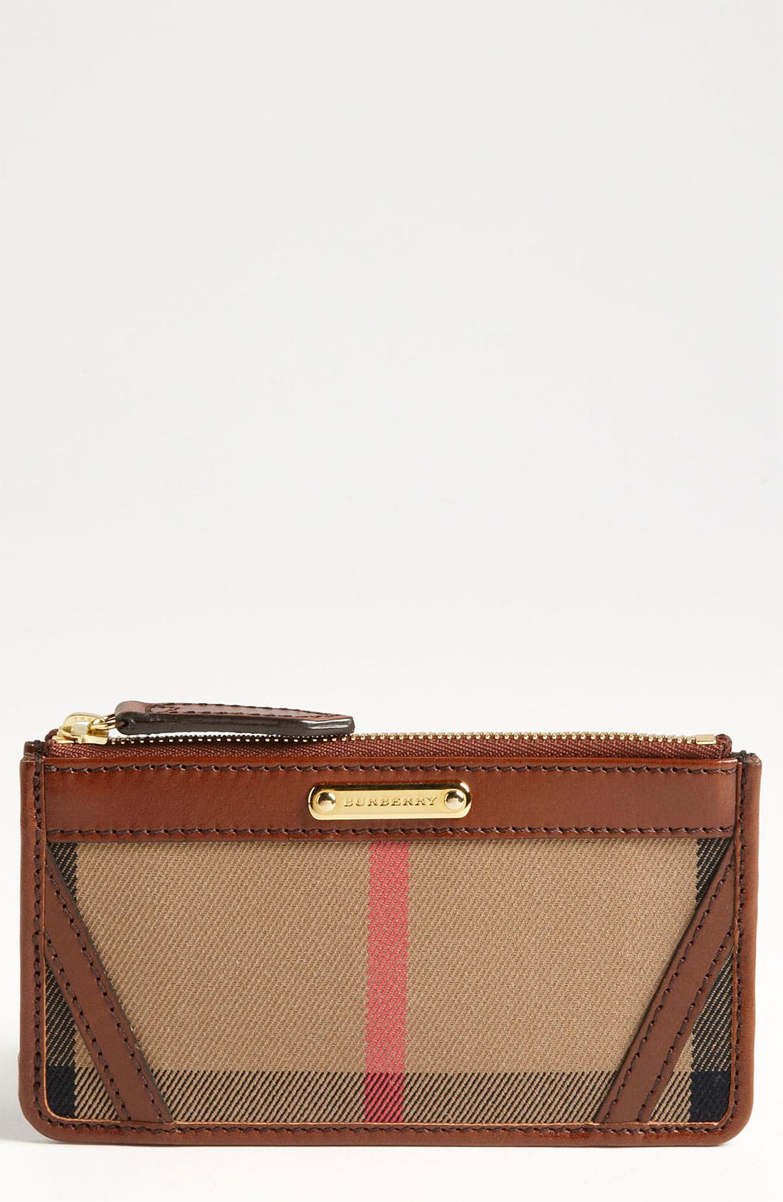 Alternate Image 1 Selected - Burberry 'House Check' Wallet