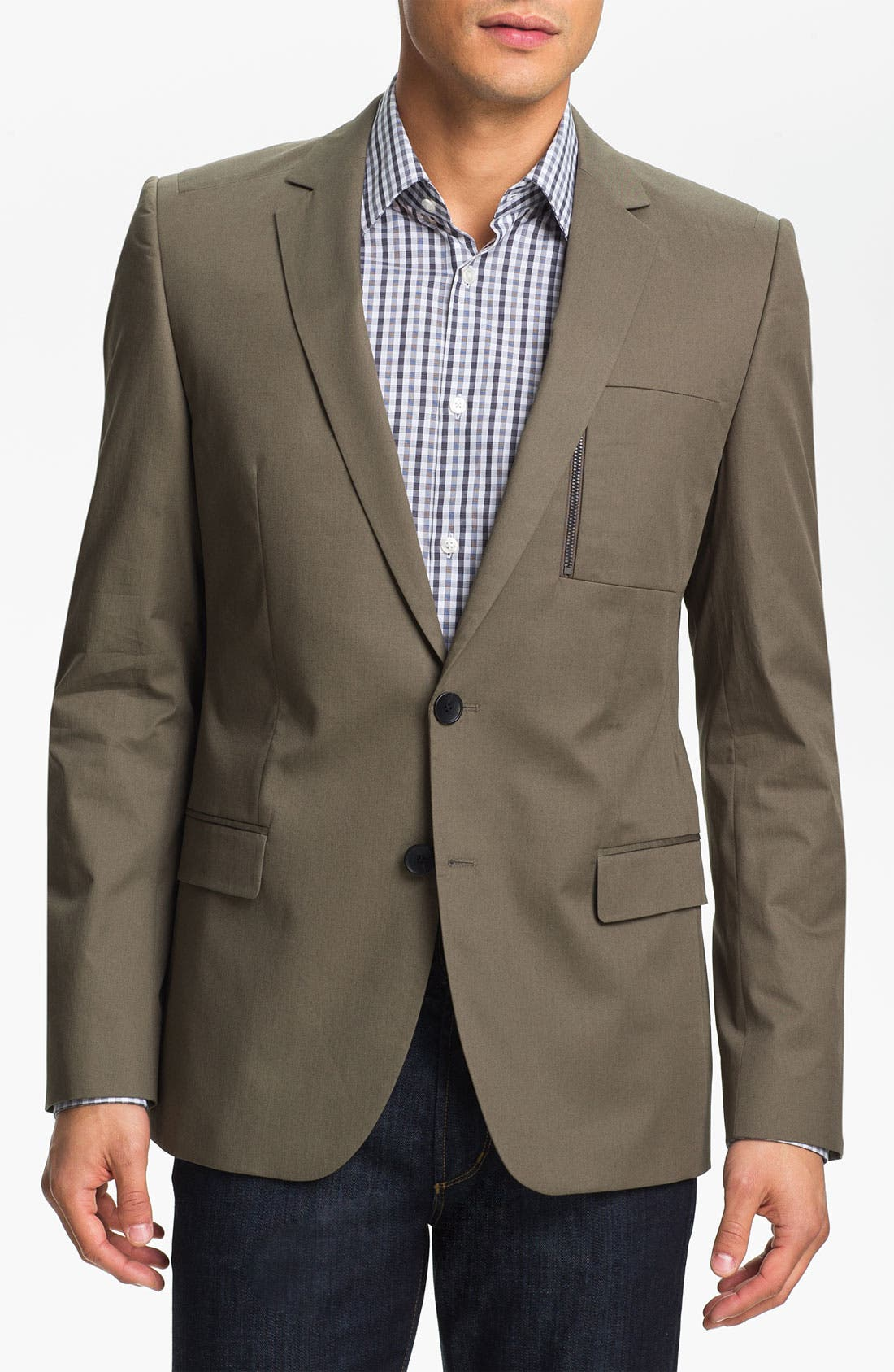 Alternate Image 1 Selected - HUGO 'Astus' Extra Trim Fit Sportcoat (Online Only)