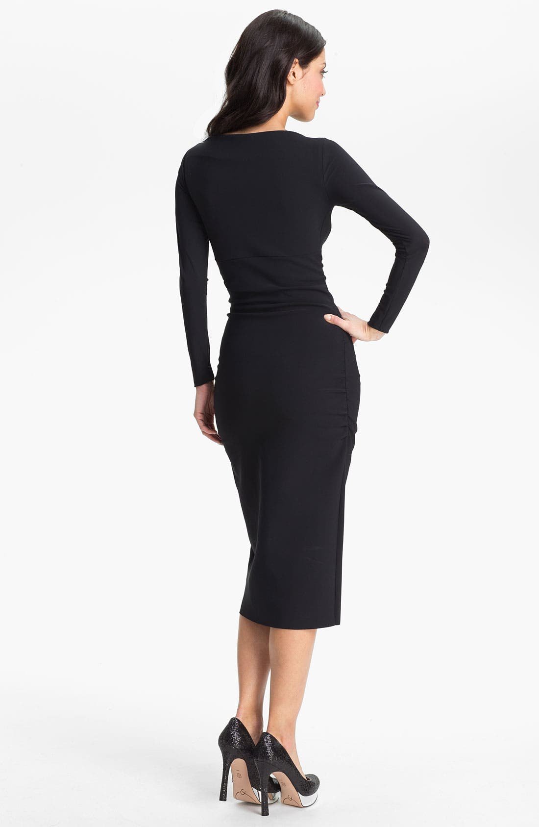 Alternate Image 2  - La Petite Robe by Chiara Boni 'Coschita' Jersey Sheath Dress