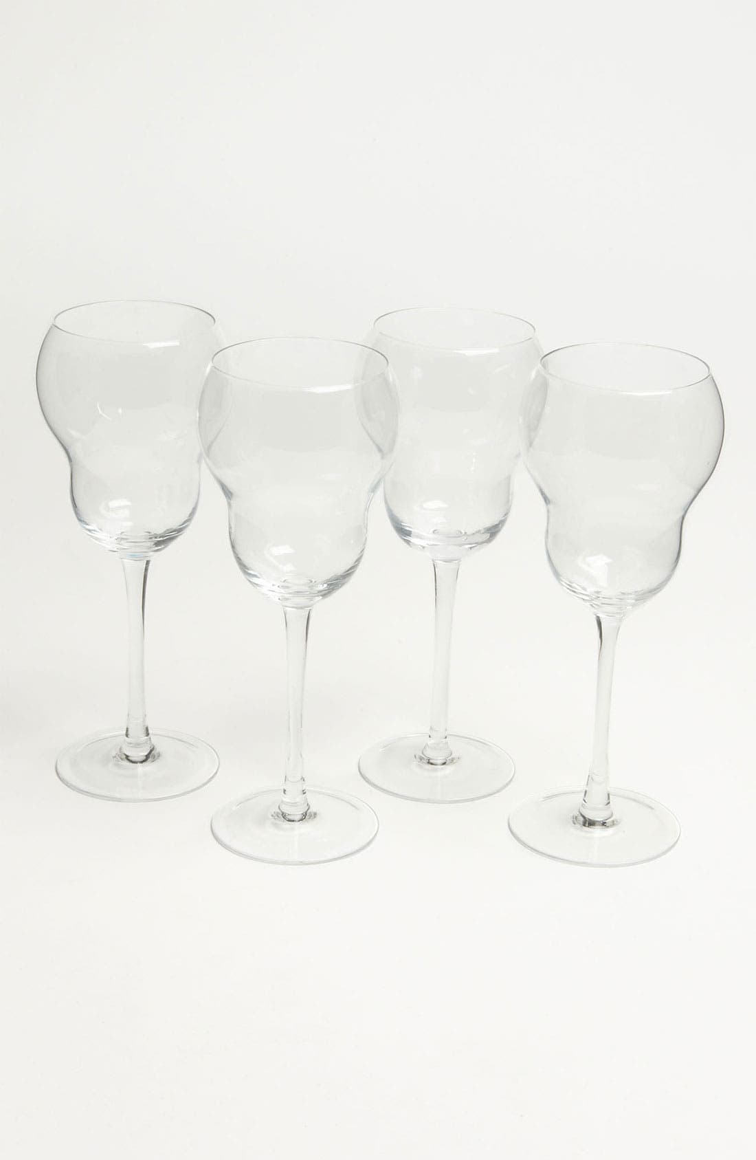 Alternate Image 1 Selected - 'Bubble' White Wine Glasses (Set of 4)