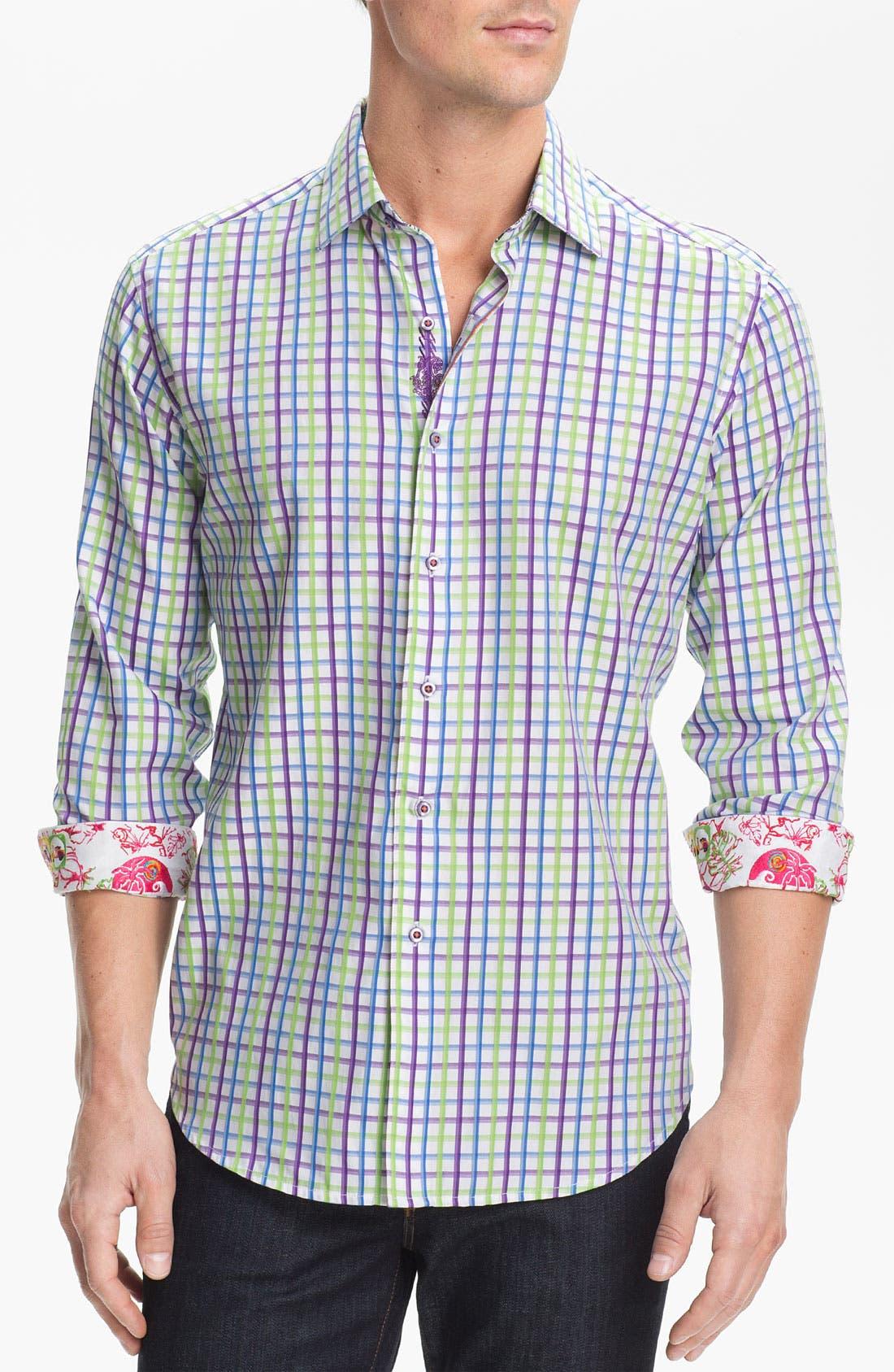 Alternate Image 1 Selected - Robert Graham 'Capella' Sport Shirt