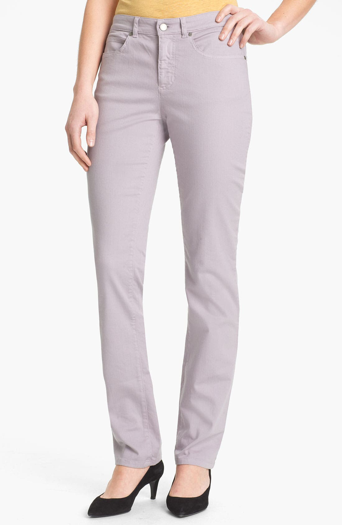 Alternate Image 1 Selected - Eileen Fisher Colored Denim Jeans