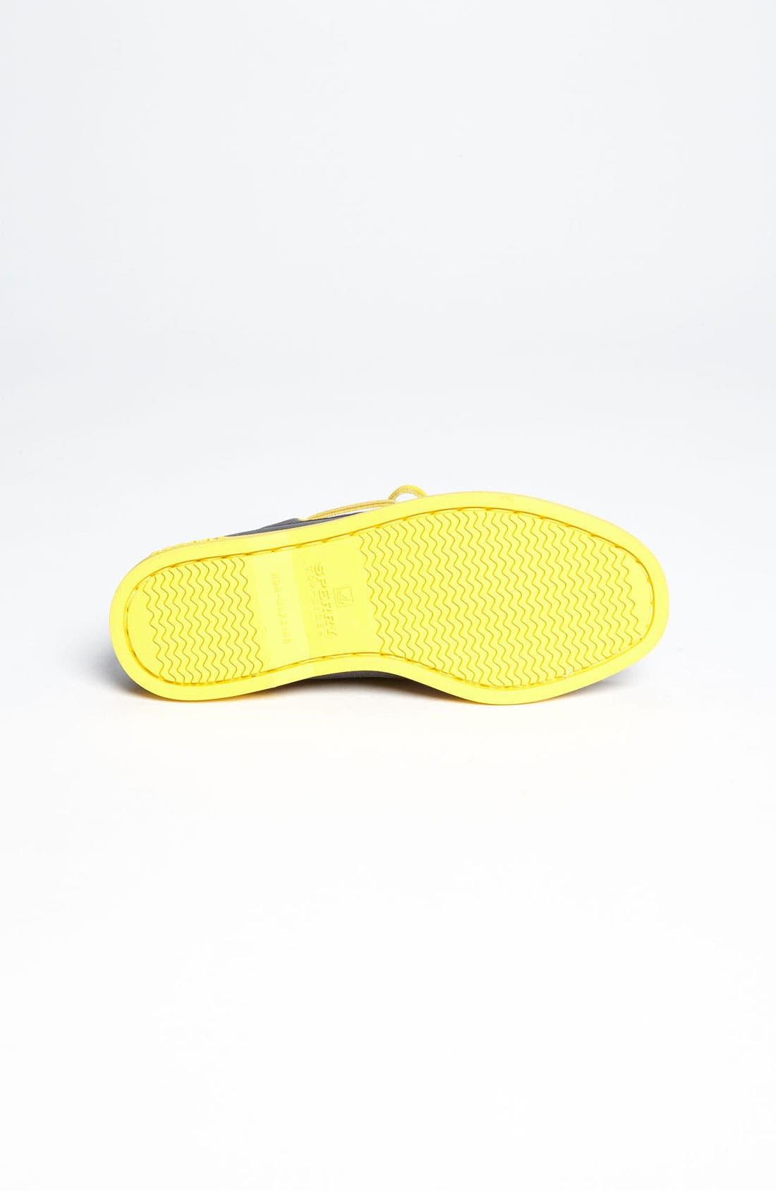 Alternate Image 4  - Sperry Top-Sider® Kids 'Authentic Original' Boat Shoe (Walker, Toddler, Little Kid & Big Kid)