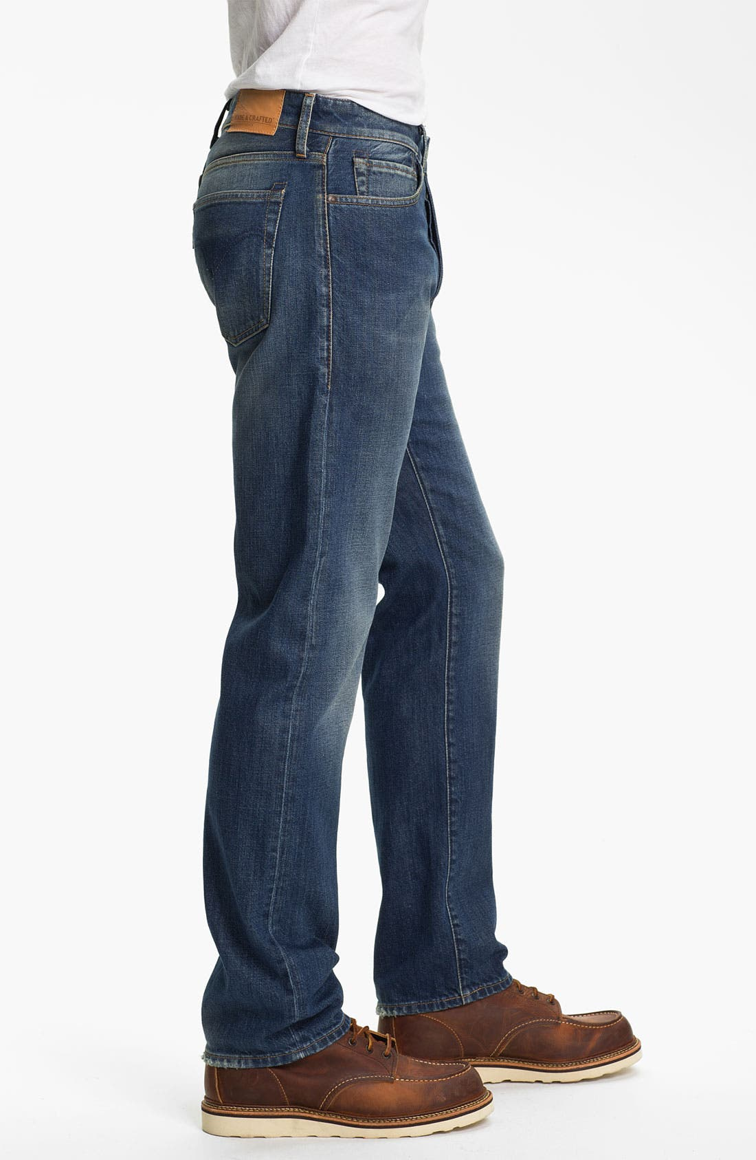 Alternate Image 3  - Levi's® Made & Crafted™ 'Ruler' Straight Leg Jeans (Wave)