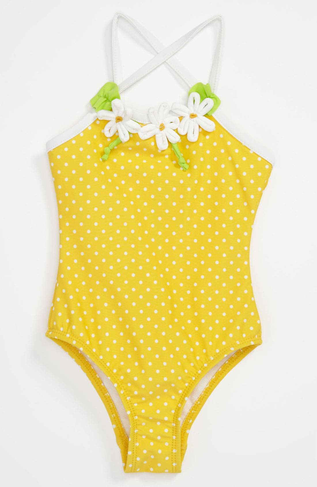 Main Image - Love U Lots One Piece Swimsuit (Infant)