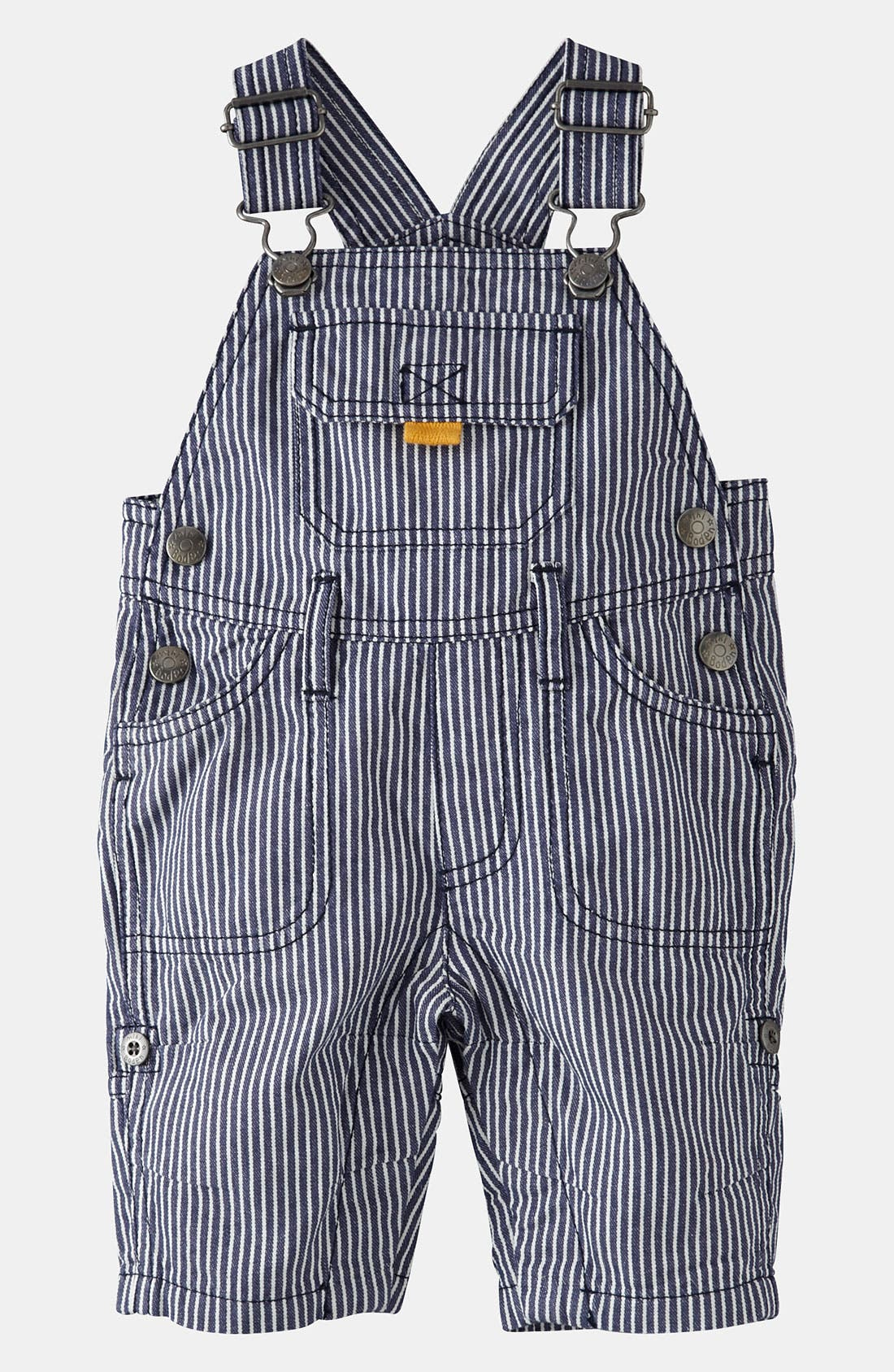 Main Image - Mini Boden 'Everyday' Overalls (Baby)