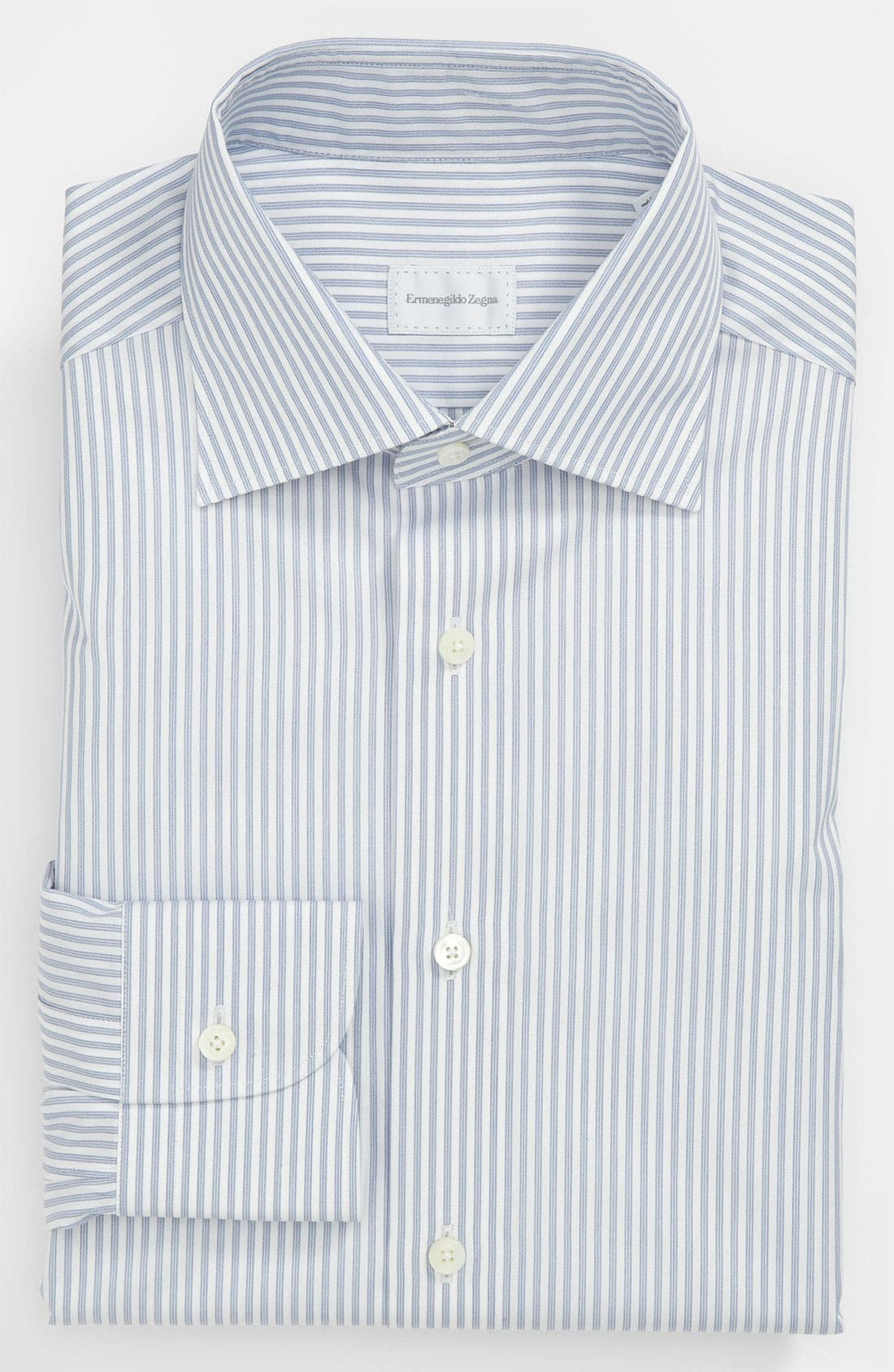 Main Image - Ermenegildo Zegna Regular Fit Dress Shirt