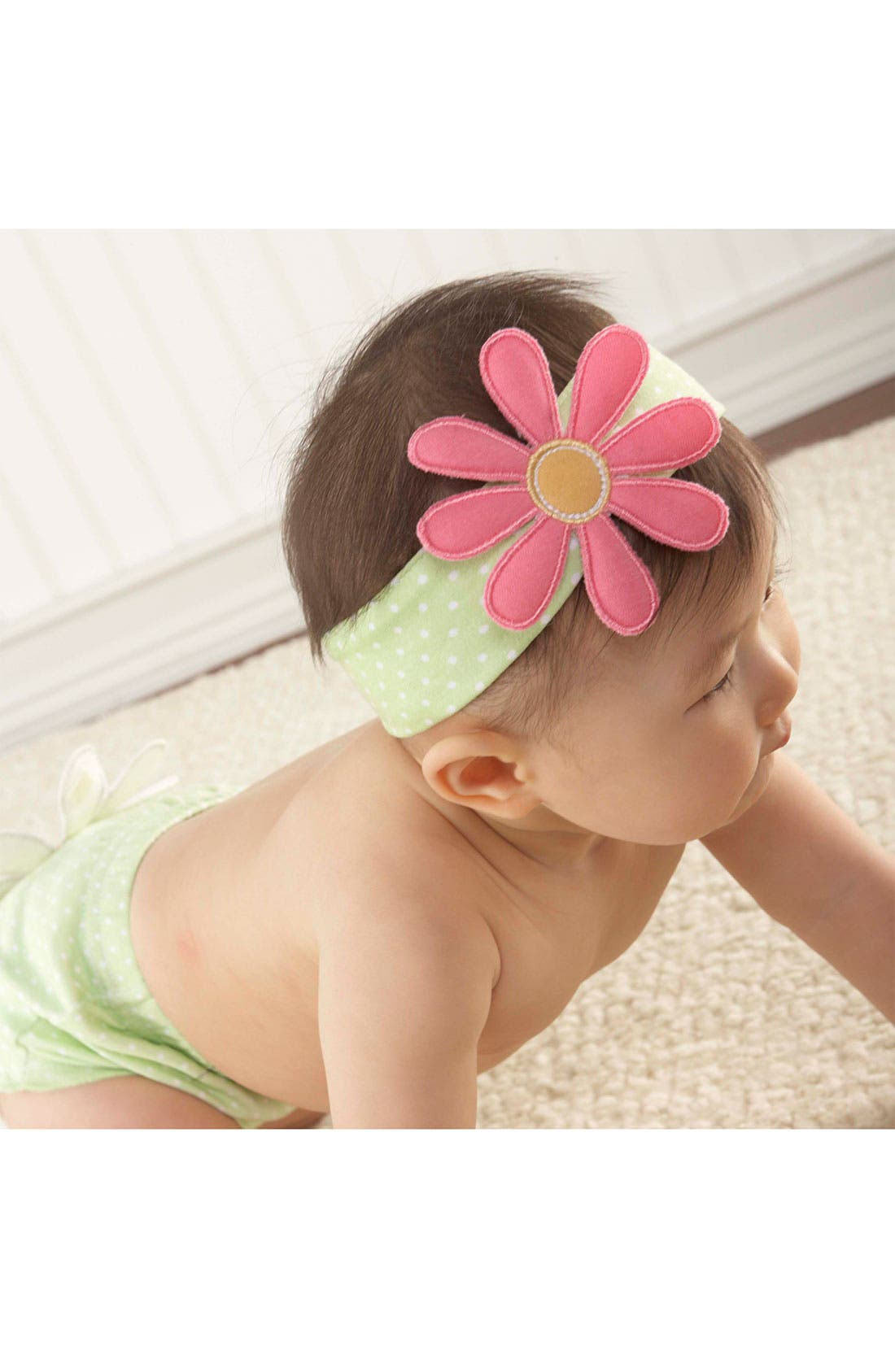 Alternate Image 2  - Baby Aspen 'Bunch O Blooms' Headband & Booties (Infant)
