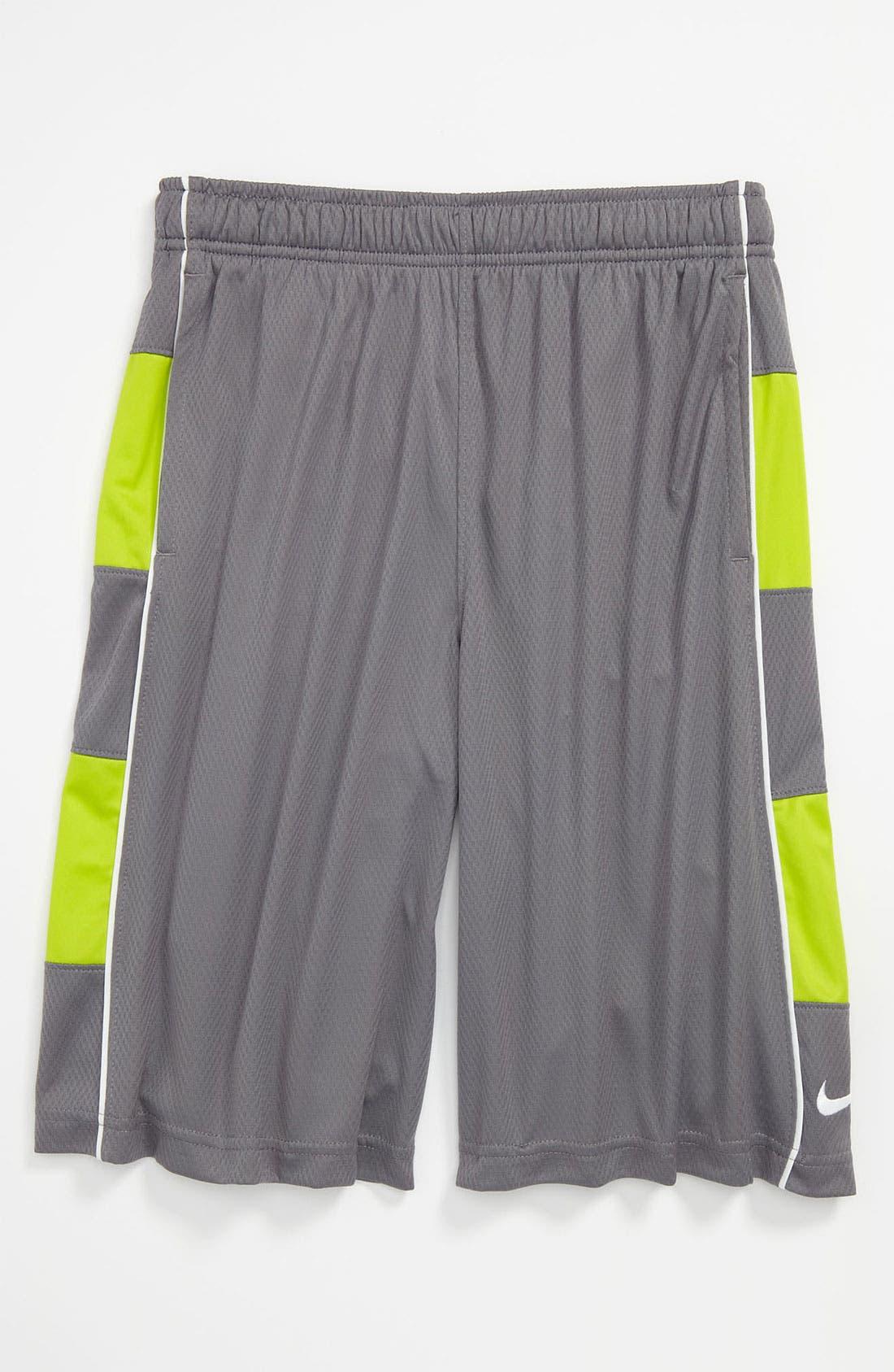 Alternate Image 1 Selected - Nike 'Rivalry' Dri-FIT Shorts (Big Boys)