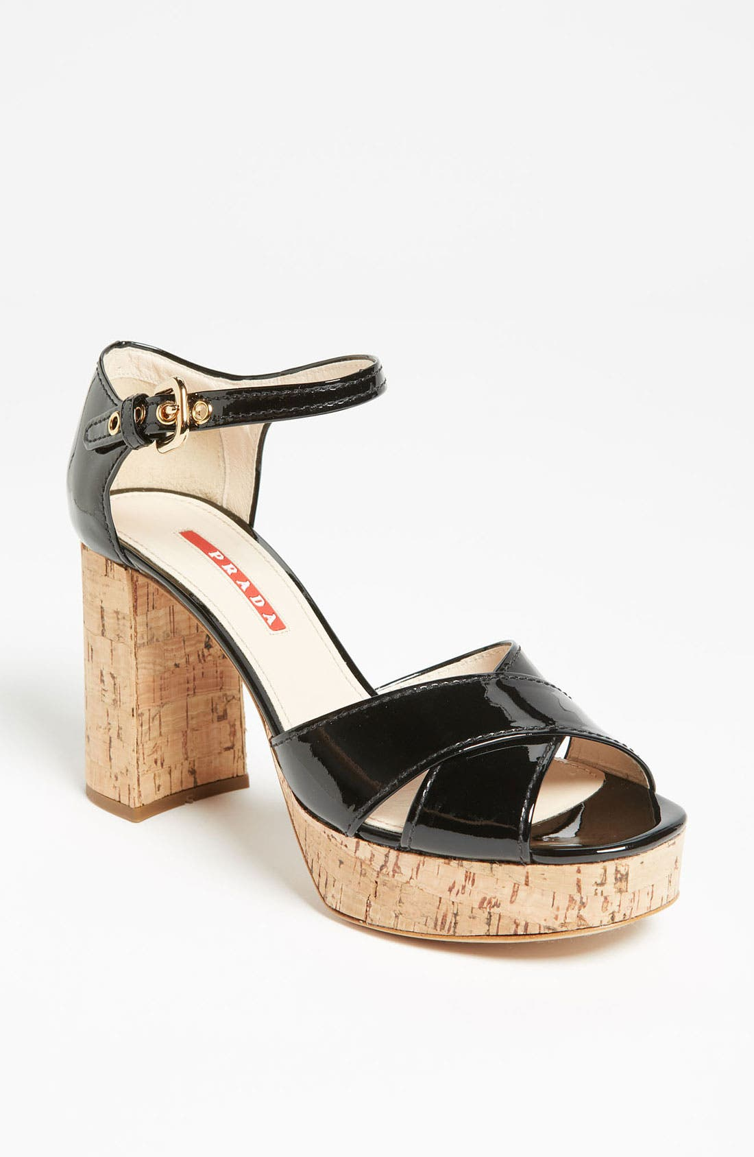 Alternate Image 1 Selected - Prada Block Heel Sandal